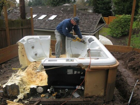 Spa Removal-Bakersfield Dumpster Rental & Junk Removal Services-We Offer Residential and Commercial Dumpster Removal Services, Portable Toilet Services, Dumpster Rentals, Bulk Trash, Demolition Removal, Junk Hauling, Rubbish Removal, Waste Containers, Debris Removal, 20 & 30 Yard Container Rentals, and much more!